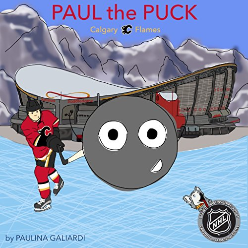 Paul the Puck: Calgary Flames - Flames Heart Calgary