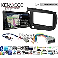 Volunteer Audio Kenwood DNX574S Double Din Radio Install Kit with GPS Navigation Apple CarPlay Android Auto Fits 2009-2011 Honda Pilot
