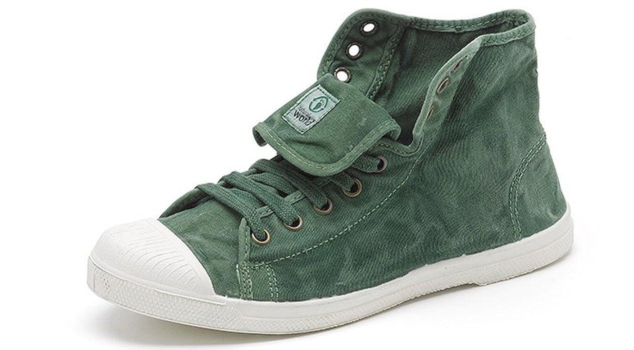 Natural World Eco - Zapatillas de algodón para Mujer 639: Amazon.es: Zapatos y complementos