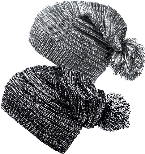 Pom Knit Hat - 5