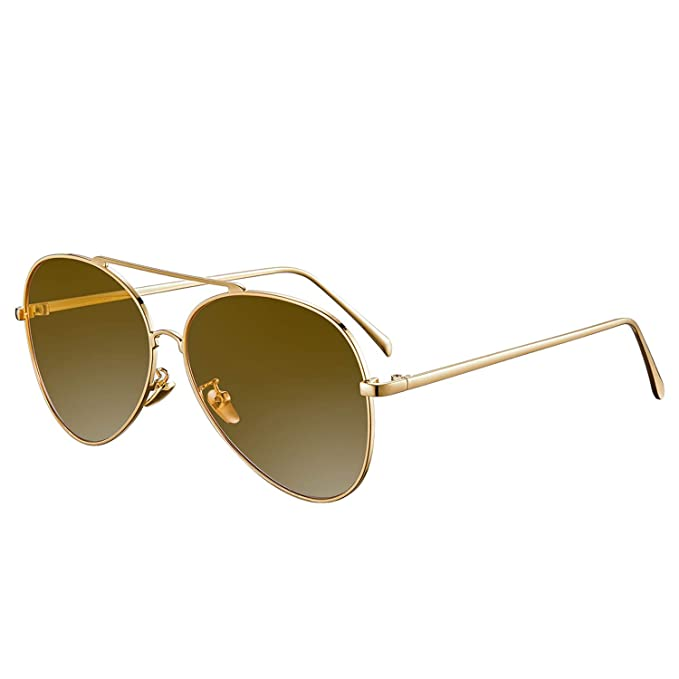 948e61acee Rezi Gafas de Sol Polarizadas Gafas de sol Hombre Mujeres, Gafas de Sol  Aviador UV400