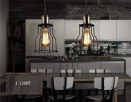 Haizhen romantischer beleuchtung loft retro moderne