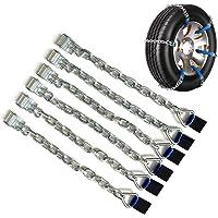 Esplic Uego De 6 Cadenas para Neumáticos De