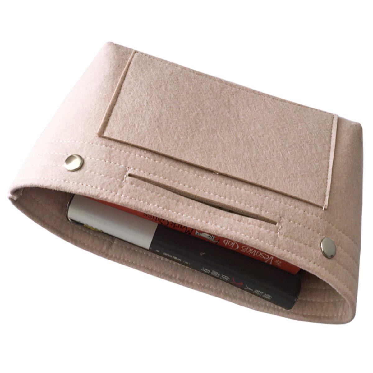 f0715526f6 HyFanStr Organizer borsa bag in bag Organizzatore cosmetici borsa Sacchetto  Deposito Borsa Tote-Blue ingrandisci