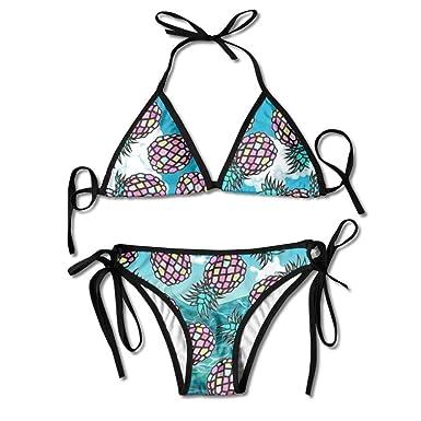 Conjunto de Bikini Sexy para Mujer Argentina Piñas Traje de baño ...