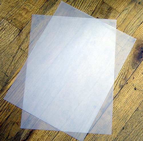 Glama Natural Translucent (Vellum) 8.5 x 11 Paper - 48lb Cover - 20 sheet pack