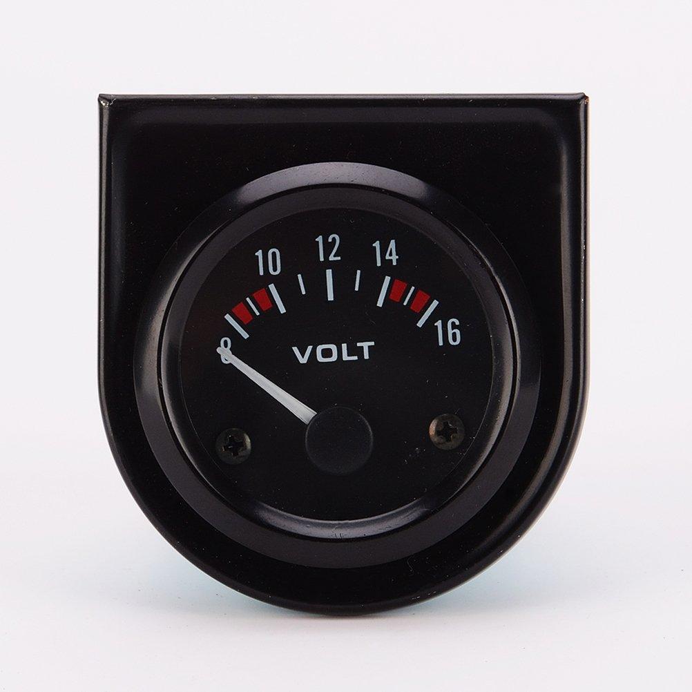 WINOMO Tension de LED compteur manomè tre voltmè tre pour Auto voiture professionnel 8 ~ 16V DC 12V 52mm O153358ZNQT05426