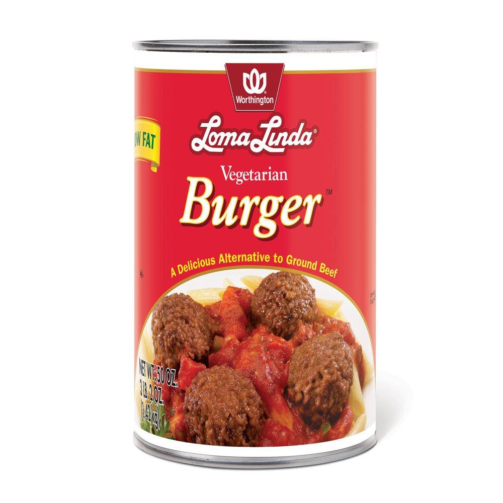 Loma Linda - Vegetarian - Vegetarian Burger (50 oz.) – Kosher by Loma Linda