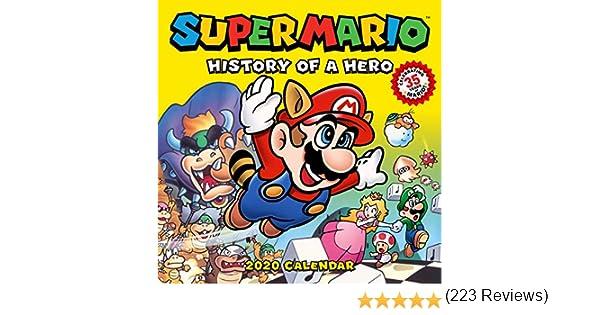 Pokemon: Super Mario Retro 2020 Wall Calendar: Amazon.es: Pokemon ...