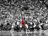D8891 Michael Jordan Jump Shot Utah Jazz NBA 32x24 Print POSTER