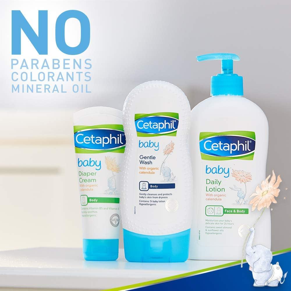 Cetaphil Baby Gentle Wash with Organic Calendula, 7.8 Oz