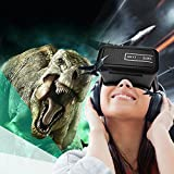 ARCCI 3D VR Glasses,Virtual Reality Headset,VR BOX Suitable for 4.0 - 6.0 inch Smartphones iPhone 6s 6 Plus Samsung Galaxy series for 3D Movies/Games (Black)