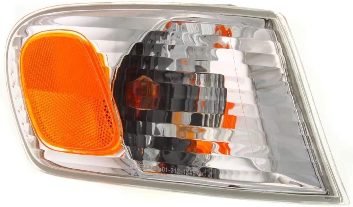 I-Match Auto Parts Right Passenger Side Signal Light Assembly Replacement for 2001-2002 Toyota Corolla Sedan TO2531137 8151002070