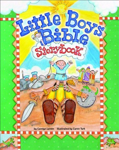 Little Boys Bible Storybook by Carolyn Larsen (2007-09-01)