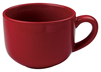 Amazon.com | Omniware 1011025 Jumbo Mugs with Handle, Set of 4, 24 ...