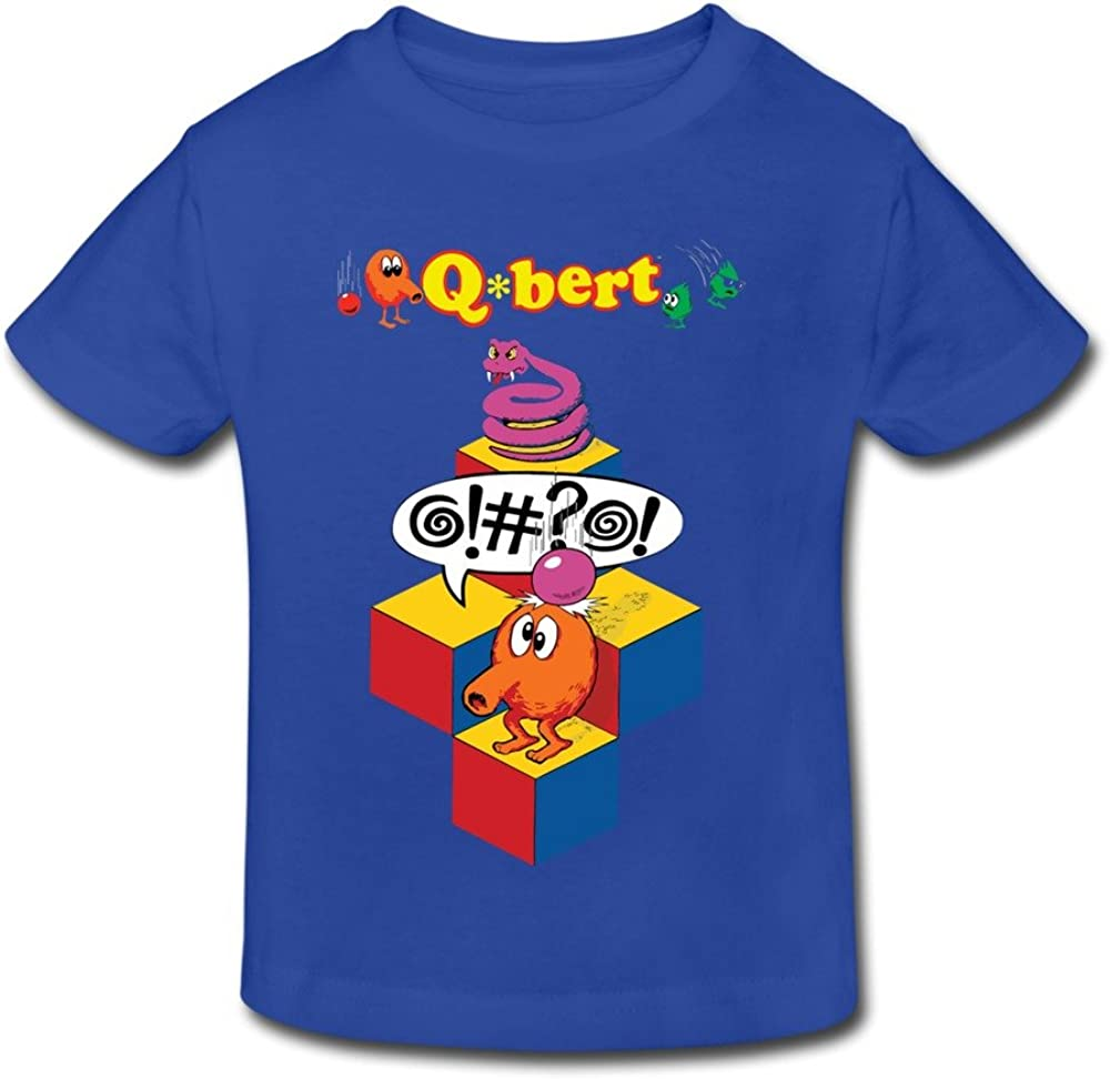 RIDA Qbert Speech Boys//Girls Baby Kids Toddler T-Shirts