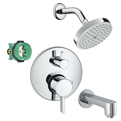 Hansgrohe KST04447-04342-13PC-2 Raindance Shower Faucet Kit with Tub ...