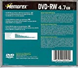 Memorex DVD-RW 4.7 GB data 1X - 2X or 120 minute video