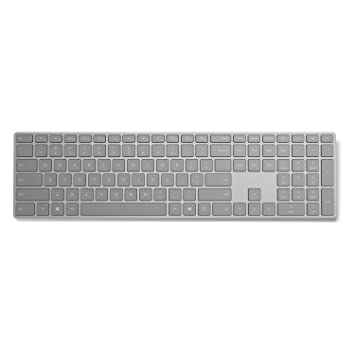 Microsoft Surface Keyboard, Gris, QWERTY español