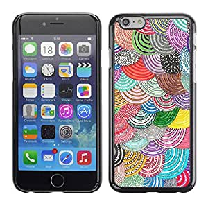 PC/Aluminum Funda Carcasa protectora para Apple Iphone 6 Plus 5.5 Pattern Crocheted Embroidery / JUSTGO PHONE PROTECTOR