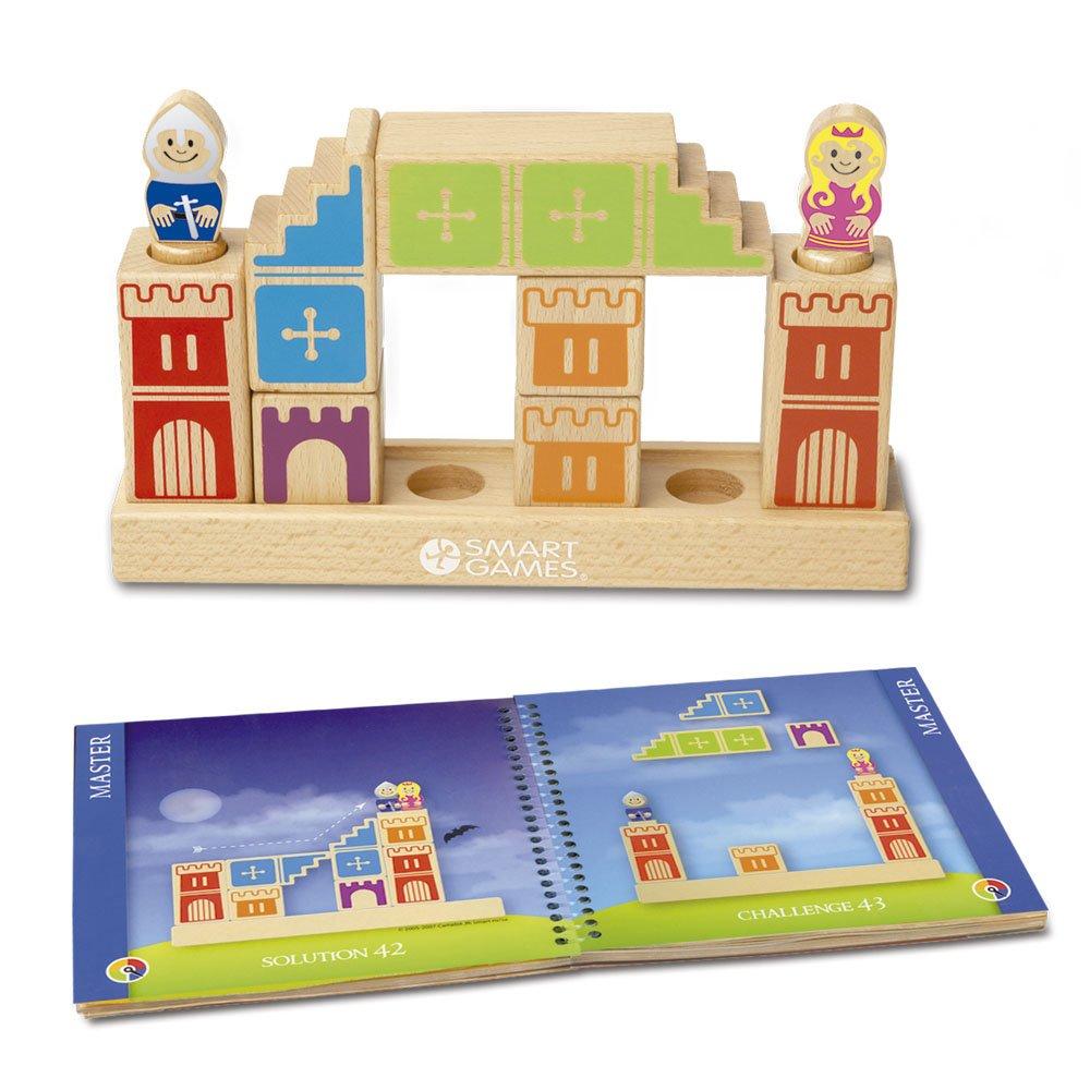 Smart - Camelot Junior, juego de ingenio de madera con retos (51384)