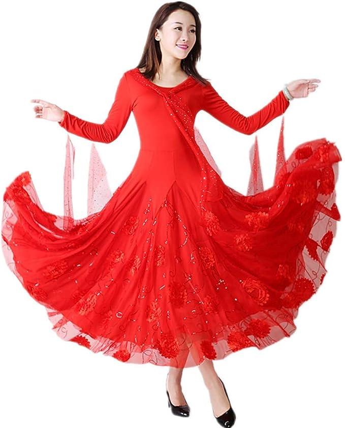 Danza Moderna Falda con serpentinas, Vestidos de Baile for Las ...