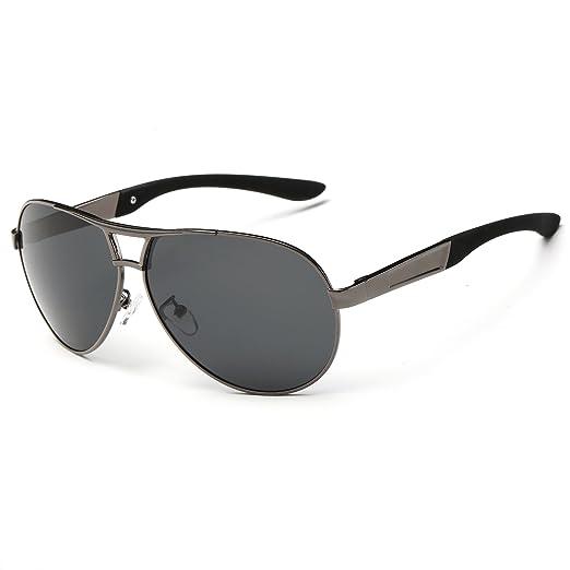 Polarized Frame Sunglasses Aviator Srander Wayfarer For Classic Uv400 Women Men Metal MUzpqSV