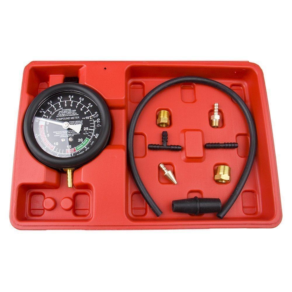 Bang4buck Fuel Pump & Vacuum Tester Carburetor Pressure Tester Gauge Set for Cars, SUVs,Trucks and ATVs by Bang4buck (Image #1)