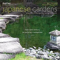 Japanese Gardens 2017 Wall Calendar