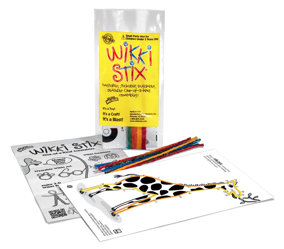 WikkiStix Animal Activity Pak Wikki Stix 500