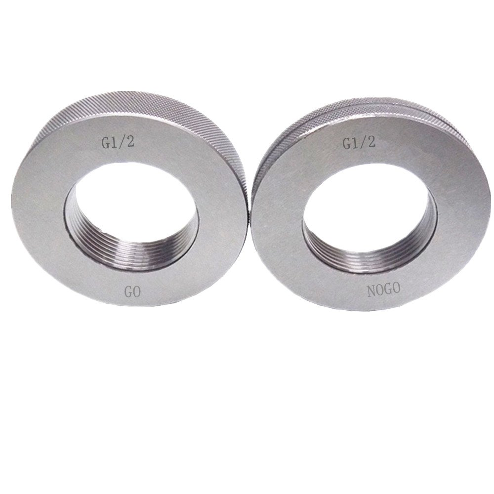 BSPP G1 Thread Ring gage GO NOGO 100/% Checked Ship by FedEx Delivery in 4 Days