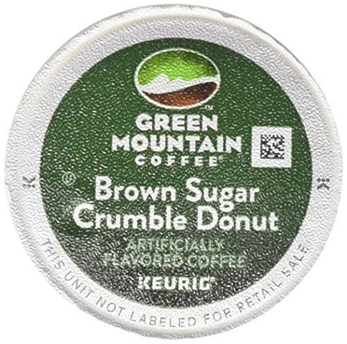 Green Mountain Coffee Brown Sugar Crumble Donut - 18 ct ()