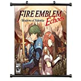 dragon quest wall scroll - Fire Emblem Echoes Shadows of Valentia Video game Wall Scroll Poster (16x16) Inches