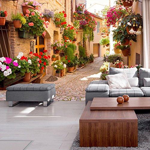 fototapete esszimmer wanddeko mit fototapeten realistisch wohnzimmer hause blten vlies. Black Bedroom Furniture Sets. Home Design Ideas