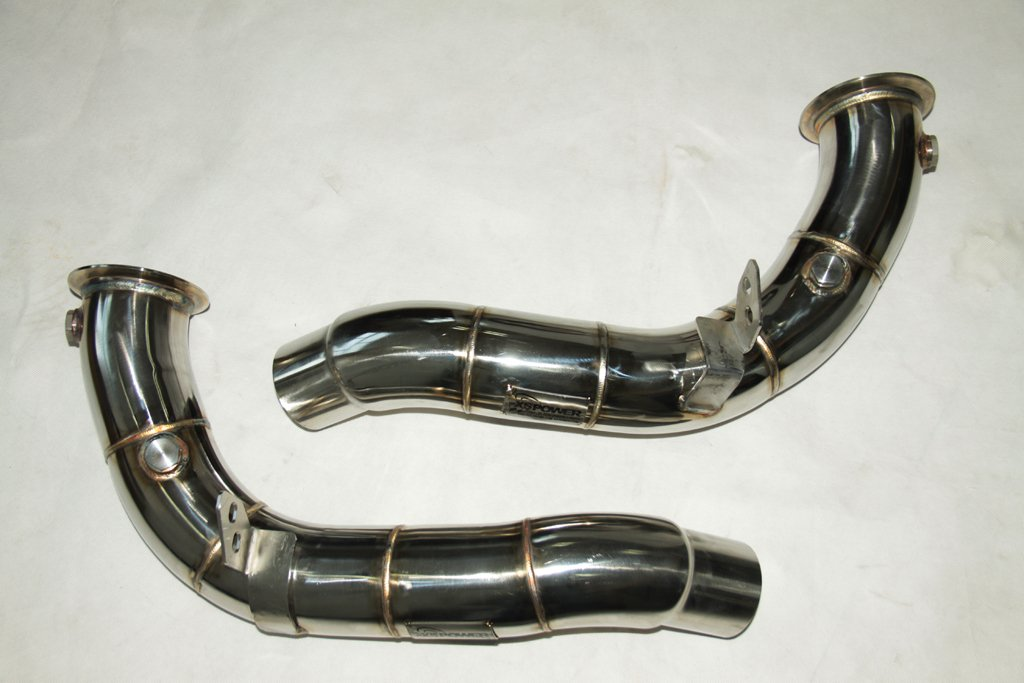 Dual Turbo Downpipes For Bmw F10 M5 F12 F13 F06 M6 Amazoncouk