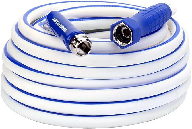 Hybrid Drinking Water Safe Legacy Manufacturing Smart Flex RV//Marine Hose White-HSFRV450 1//2 X 50