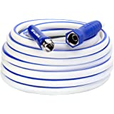 "Legacy Manufacturing HSFRV550 SmartFlex, 5/8"" x 50', 3/4""-11 1/2 GHT Fittings RV/Marine Water Hose, (inches) (feet)"