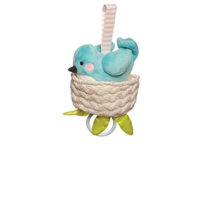 Manhattan Toy Lullaby Bird Pull Musical Crib and Baby Toy: Toys & Games