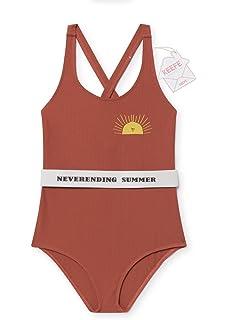33e82b2db02e0d Amazon   Sylvamorning ツル 子供水着 女児 水着 女の子水着 和風 ...