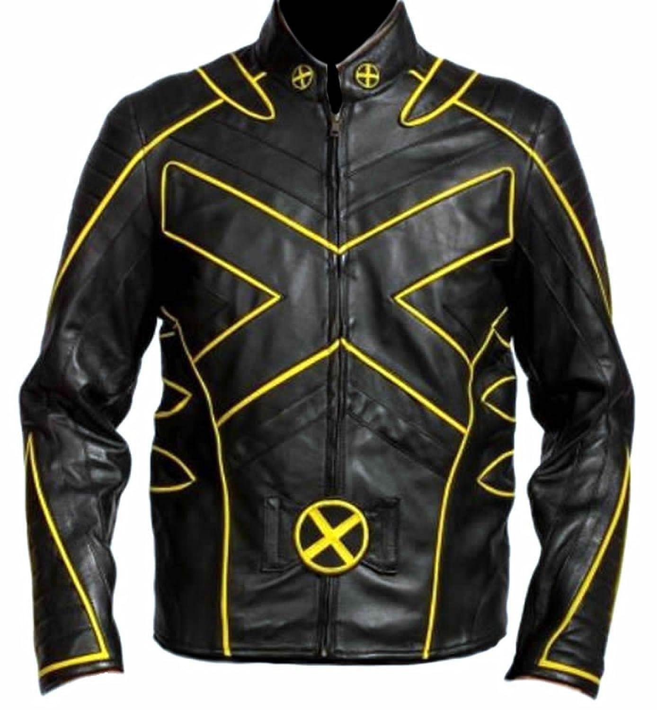 Classyak Men's Xmen Fashion Leather Jacket