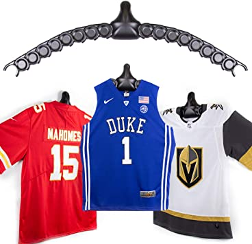 ChalkTalkSPORTS JerseyGenius   The Ultimate Display for All Jerseys    Shapes to Fit Any Sports Jersey   Versatile Hanger and Wall Display