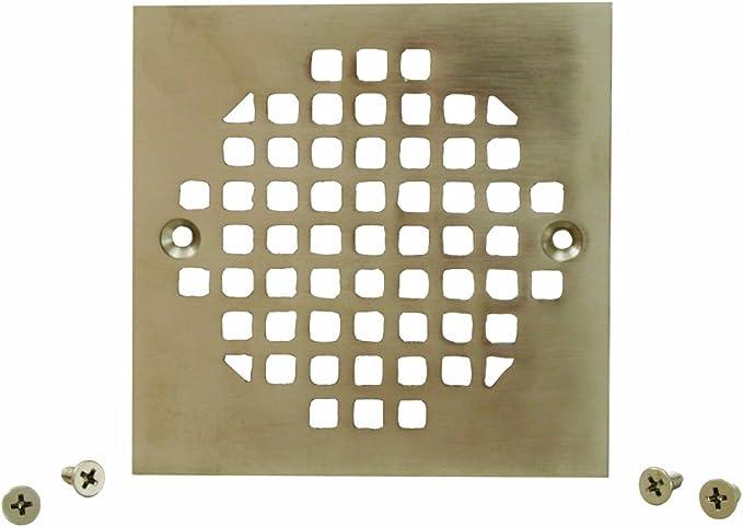 """IPS Metal Spud in Nickel Bronze JONES STEPHENS 5/"""" Brass Strainer with 3.5 in"""