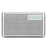 GGMM E3 Wireless Bluetooth Speaker, Multi Room Play Wifi Speaker with LED Clock, Alarm Setting, USB Charging Port, Stereo Sound Airplay Speaker