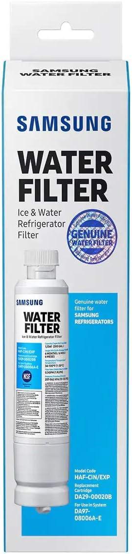 Samsung Da29-00020b-1P Refrigerator Water Filter