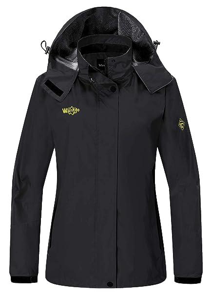 Amazon.com: Wantdo, abrigo impermeable para escalar con ...