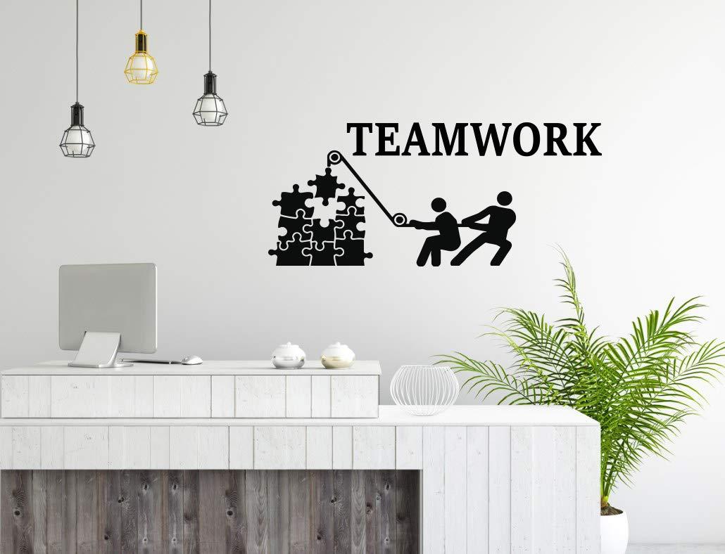 Amazon Com Office Wall Art Decal Teamwork Business Success