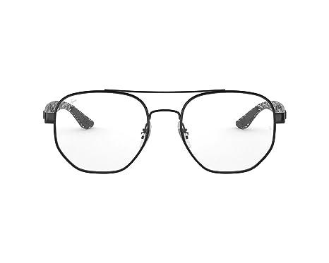 138318f68af Amazon.com  Ray-Ban RX8418-2509 Eyeglasses BLACK 51mm  Clothing
