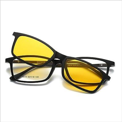 QZ HOME Día y Noche Un Conjunto de Espejos Gafas de Sol ...