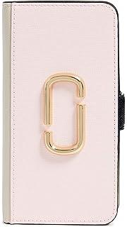 promo code ec713 2d713 Amazon.com: Marc Jacobs Double J Folio iPhone 8 Case, Pink Multi ...