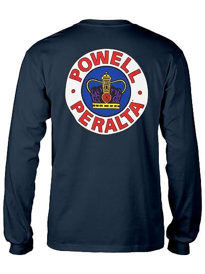 a4f192a90ad6 Amazon.com: Powell-Peralta Skateboard Long Sleeve Shirt Supreme ...